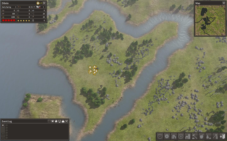 現在挑戦中のマップ(初期状態)