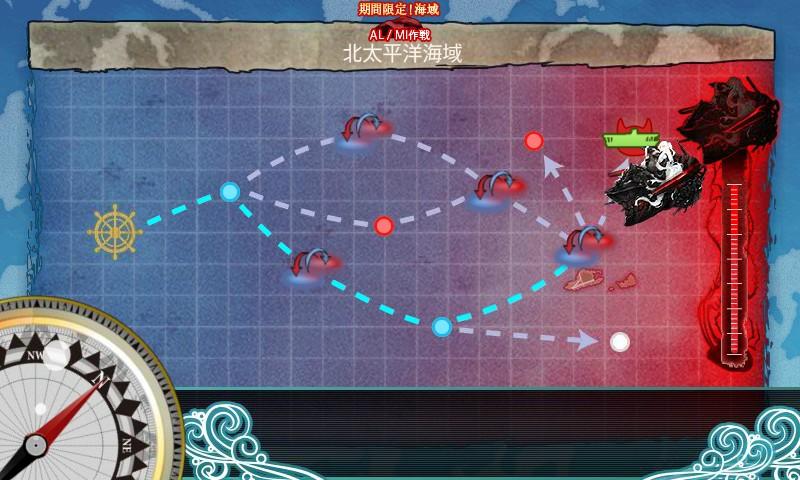 イベント海域3マップ