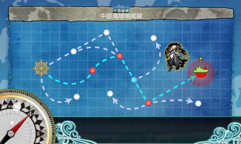6-1「潜水艦作戦」:マップ