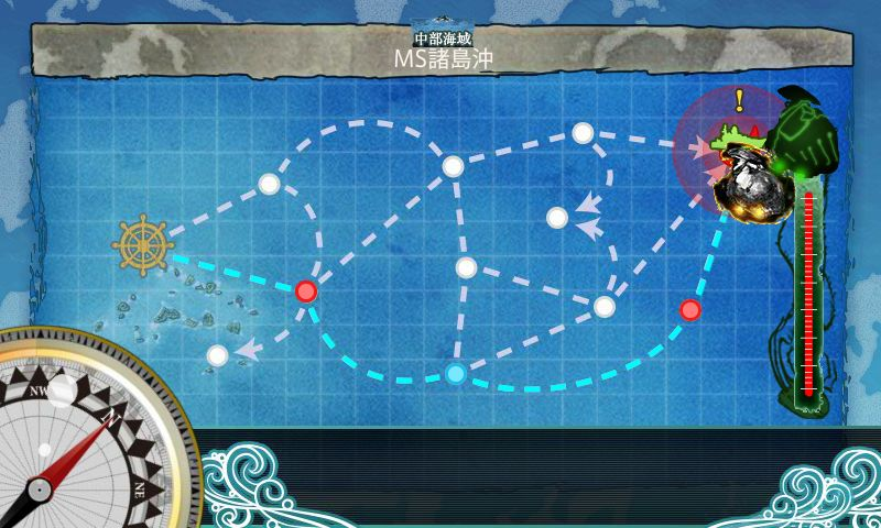 6-2「MS諸島防衛戦」:マップ