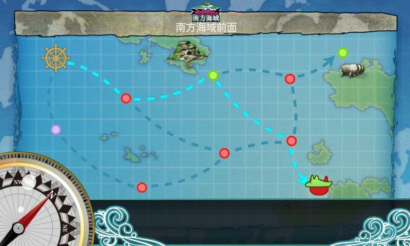 西村艦隊南方出撃任務:進攻ルート