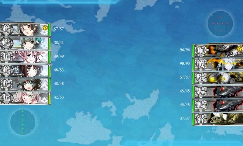 新三川艦隊ボス戦1